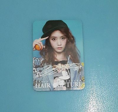 Yoona SNSD Girls Generation Hair Couture Photocard