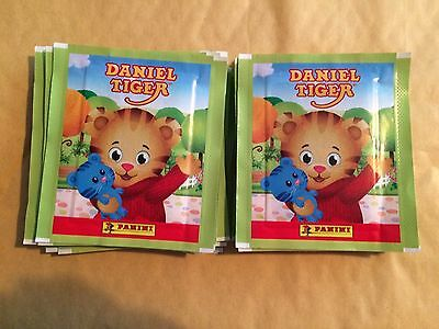 20 Packs Packets of Daniel Tiger Stickers Panini