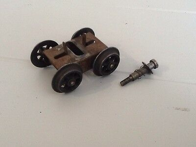 vintage Hornby O Gauge Special Tank Locomotive Front Bogey And Wheels