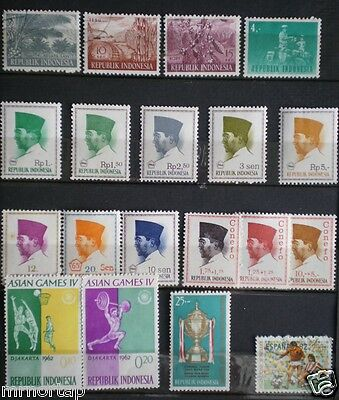 69 vintage Southeast Asia Stamps Lot MNH Indonesia Philippines Thailand Vietnam