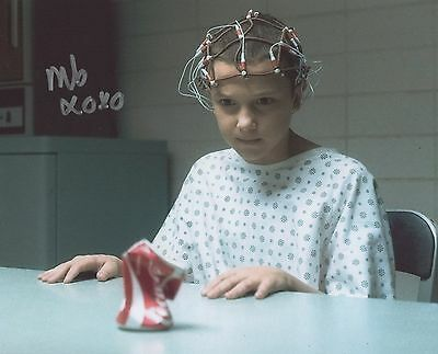 Stranger Things Eleven Millie Bobby Brown Signed 10x8 Photograph *BARGAIN*