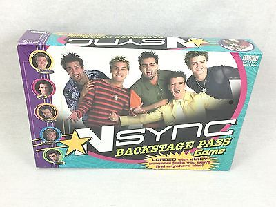 Sealed NSync Backstage Pass Game From Patch 2000 New #1881