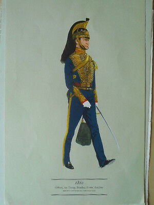 Print Of The Bombay Horse Artillery  By Smitherman