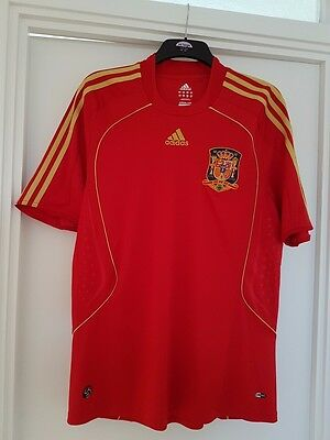 Adidas Spain football shirt size L