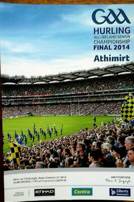 Kilkenny V Tipperary 27/9/2014 Gaa All Ireland Hurling Final Replay