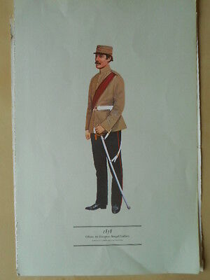 Print Of The European Bengal Fusiliers  By Smitherman