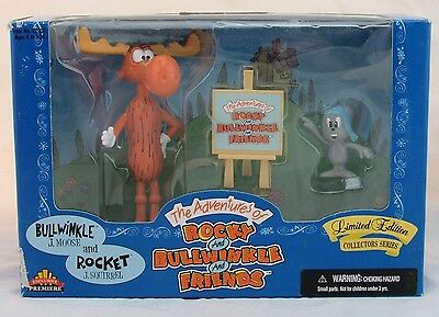 The Adventures of Rocky and Bullwinkle, Bullwinkle J Moose and Rocket J Squirrel