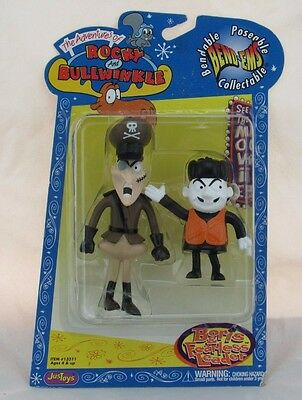 The Adventures of Rocky and Bullwinkle Bend-Ems Boris & Fearless Leader JusToys