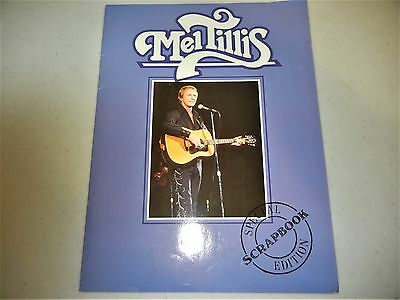 Mel Tillius Signed Souvenir Program Brochure 1988 Large Format Excellent