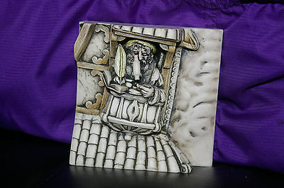 Harmony Kingdom Wimberley Tales Picturesque Marble Resin Tile The Scientist NIB
