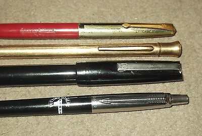 Osmiroid 65 Fountain Pen, Conway Stewart & Eversharp Pencils  & Parker Ballpoint