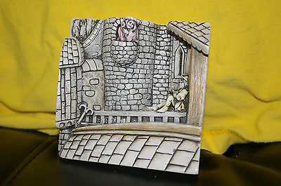 Harmony Kingdom Wimberley Tales Picturesque Marble Resin Tile The Lovers NIB