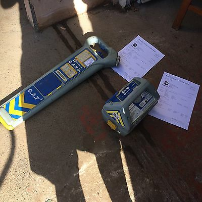 Cable Locator Cat 3 Plus And Genny Avoidance Tool Pipes 12 Months Calibrated Gwo