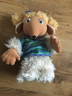 """10"""" cutee soft alderney womble from the wombles first love  plush doll 1998"""
