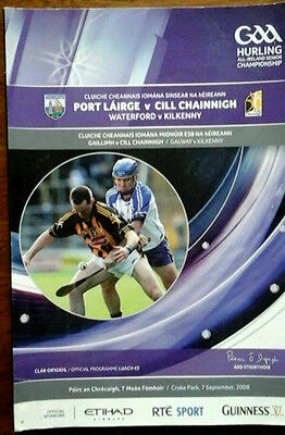 Waterford V Kilkenny 7/9/2008 Gaa All Ireland Hurling Final