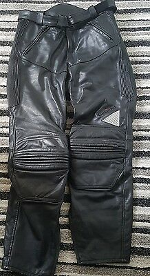 hein gericke leather motorcycle trousers size 36 waist or euro  56