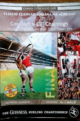 Cork V Kilkenny 12/9/2004 Gaa All Ireland Hurling Final