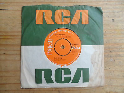 "Elvis Presley Suspicion 7"" Single RCA 1976 VG+ Condition.."