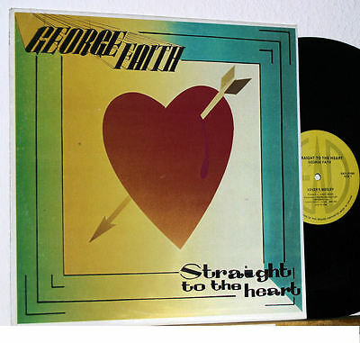 George Faith - Straight to the Heart - 80er Canada LP - Reggae Roots