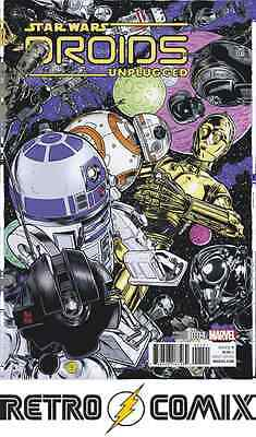 Marvel Star Wars Droids Unplugged #1 Allred Variant New/unread Bagged & Boarded