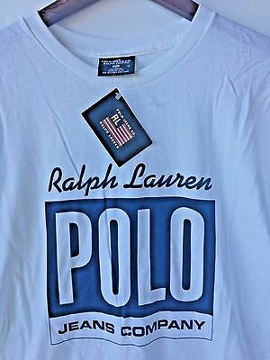 NEW Old Stock Vintage POLO by Ralph Lauren Men's T-Shirt Size : M
