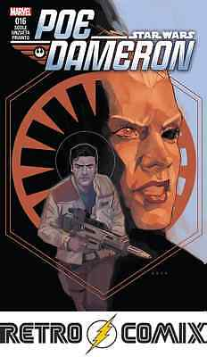 Marvel Star Wars Poe Dameron #16 First Print New/unread Bagged & Boarded