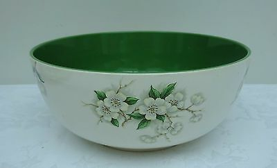 Clarice Cliff Blossom Time Fruit Bowl Royal Staffordshire Green