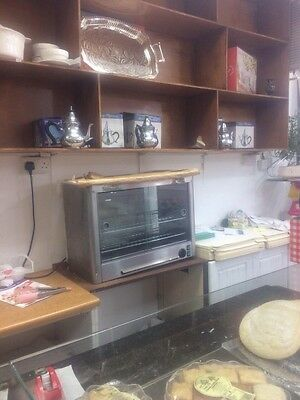 Commercial hot food display cabinet