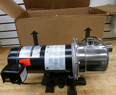 Berkeley Shallow Well Jet Pump Model: 10SJH11C NSN:4320-01-640-9892 ~NEW~