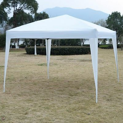 10x10 EZ Pop Up Canopy Tent Instant Shelter Tent Beach Gazebo Party Shade White & 10X10 EZ Pop Up Canopy Tent Instant Shelter Tent Beach Gazebo ...