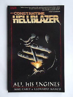 John Constantine, Hellblazer: All His Engines. P/B D C Comics 2006 Mint Con