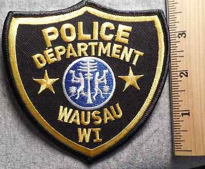 Wausau Wisconsin Police Patch (Highway Patrol, Sheriff, Ems)
