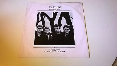"U2 - Pride (In The Name Of Love) - 12"" Vinyl Single Excellent Vinyl"