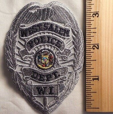 West Salem Wisconsin Police Patch (Highway Patrol, Sheriff, Ems)