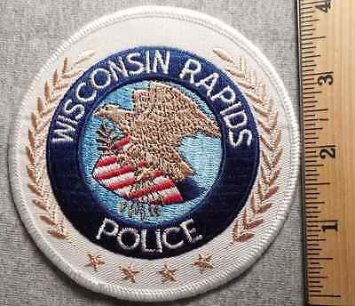 Wisconsin Rapids Police Patch (Highway Patrol, Sheriff, Ems, State)