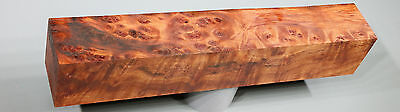 x1733 - - CAMPHOR BURL - Pepper Mill - Tang/Scales Craftwood - Dry