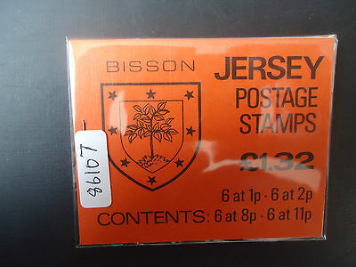Jersey 1983 £1.32 Booklet (SB 34) (Bisson) MNH