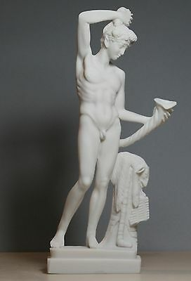 Greek Roman God of wine & theater Dionysus Bacchus Statue Sculpture 9.45΄΄