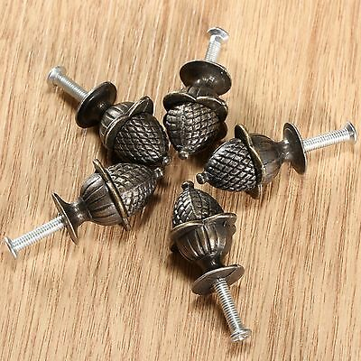 Durable Antique Pull Handle Knobs For Jewelry Box Case Cabinet Cupboard Wardrobe