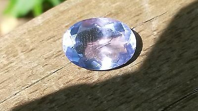 Colour change fluorite 7.25ct 14mm x 10mm loose gemstone