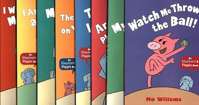 ELEPHANT AND PIGGIE BOOKS 8 titles by Mo Willems BRAND NEW AND POSTAGE FREE!