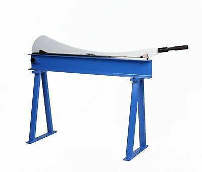 """Erie Tools® Guillotine Shear 40"""" x 16 Gauge Sheet Metal Plate Cutter with Stand"""