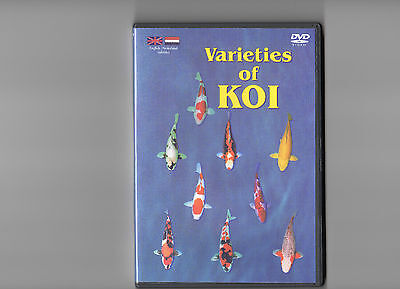 Varieties Of Koi,complete With Case And Cover.
