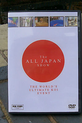 THE ALL JAPAN SHOW. KOI DVD.Complete With Case and Cover.