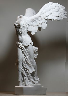 Winged Nike Victory of Samothrace  Cast Marble Greek Statue Sculpture 14.17΄΄