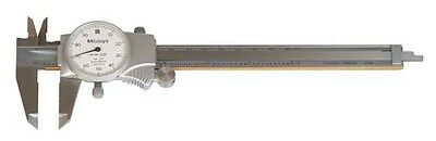 "Mitutoyo Dial Type Caliper Range 0 12"" with Case NEW 505-677"