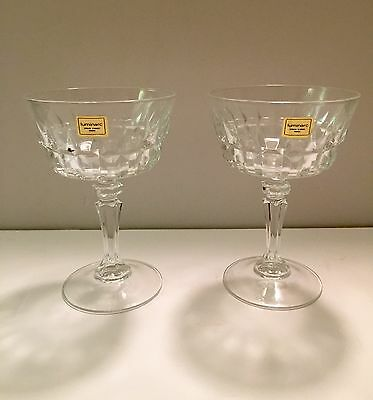 2 luminarc Glass Made In France