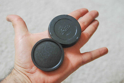 Leica M Rear Lens cap and body cap