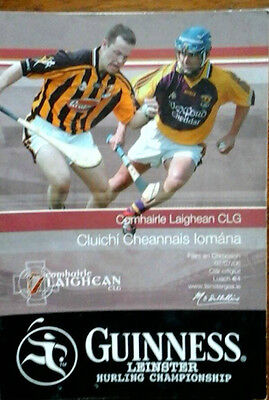 Kilkenny V Wexford 2/7/2006 Gaa Leinster Senior Hurling Final