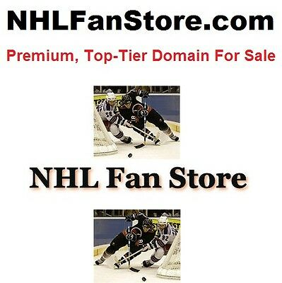 Premium, Top-Tier Domain Name: NHLFANSTORE.COM - owned since 1998